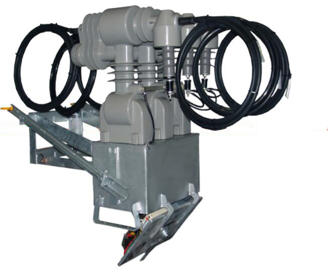 17.5(24)kV  Overhead Pole Mounted Metering Box with  Primary Cable and Arrester Seat,JLSZY2-17.5(24) Combined Transformer